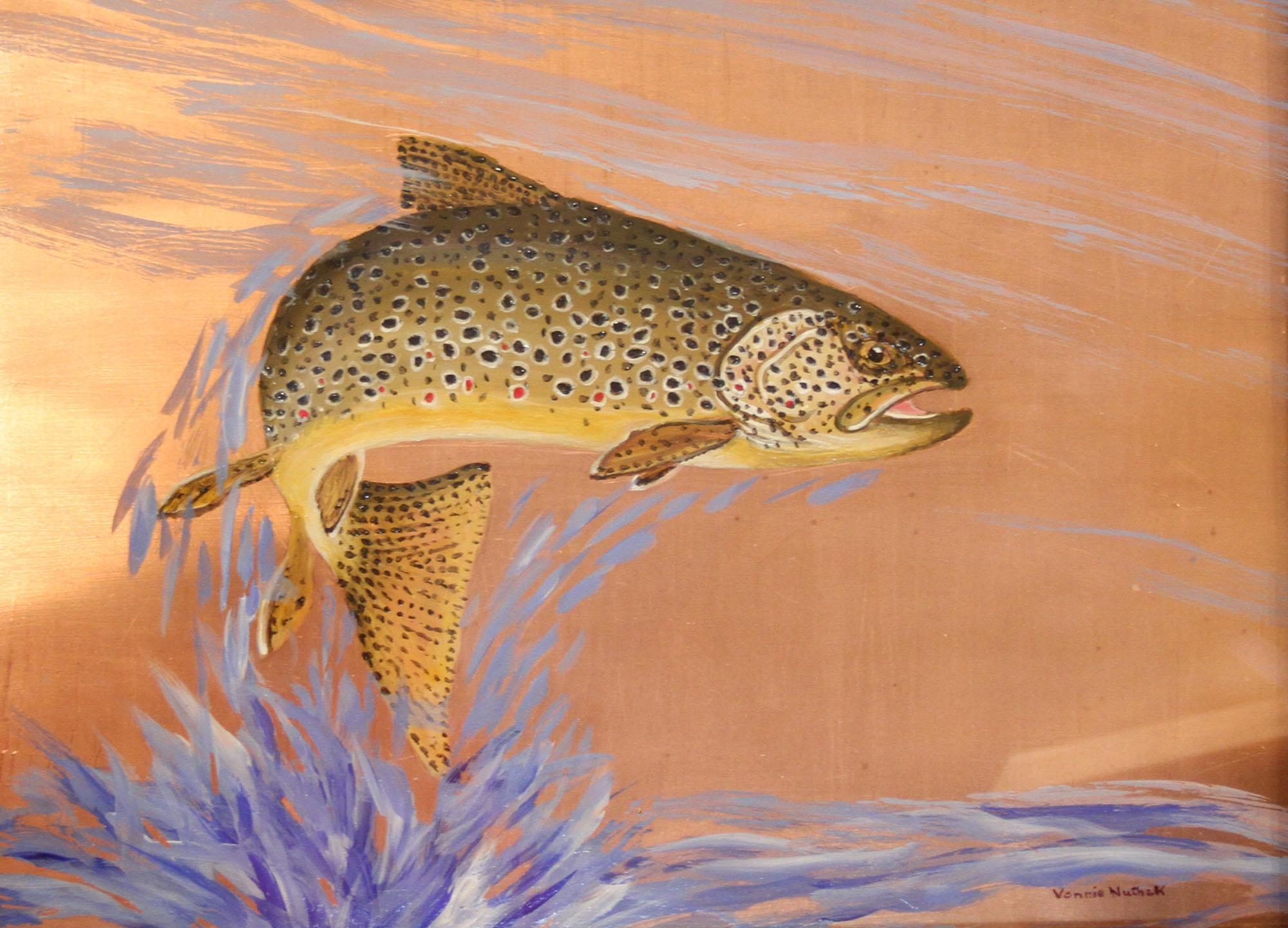 Brown Trout   - Vonnie Nuthak