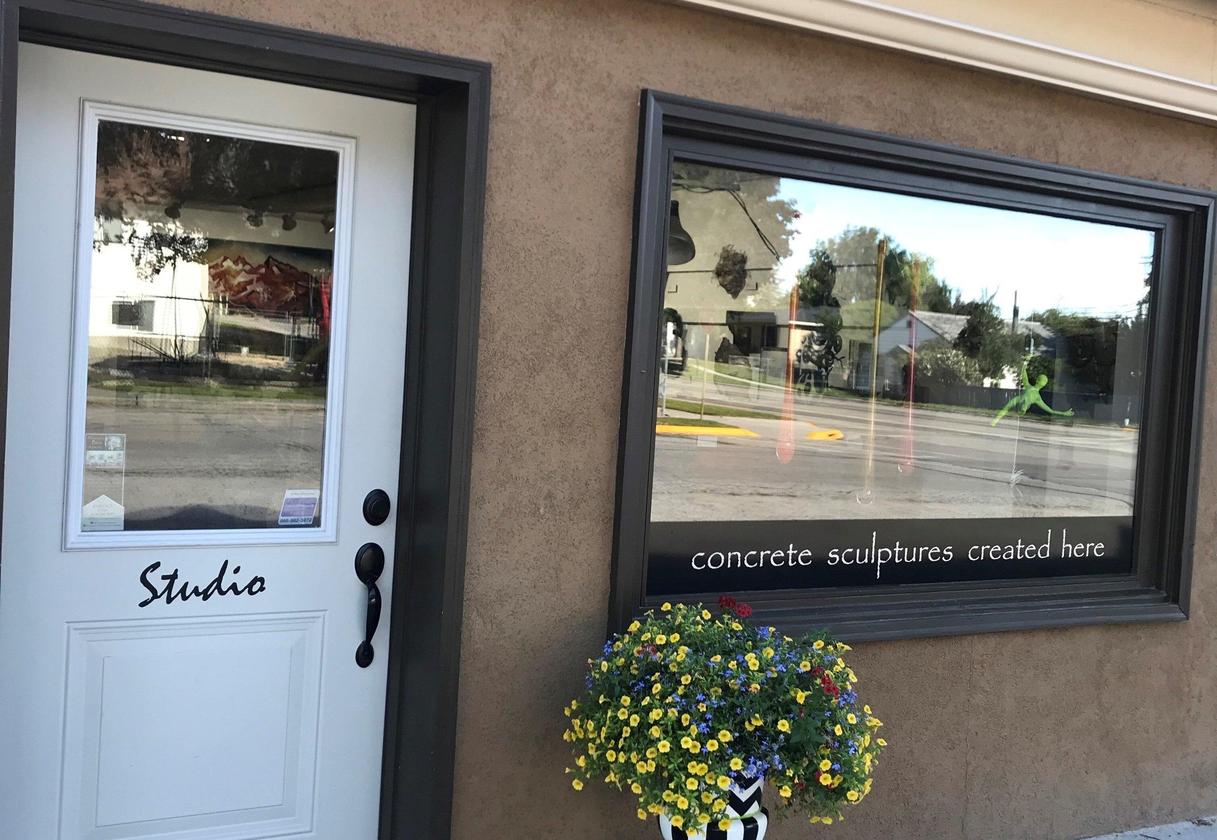 Studio Door Entrance
