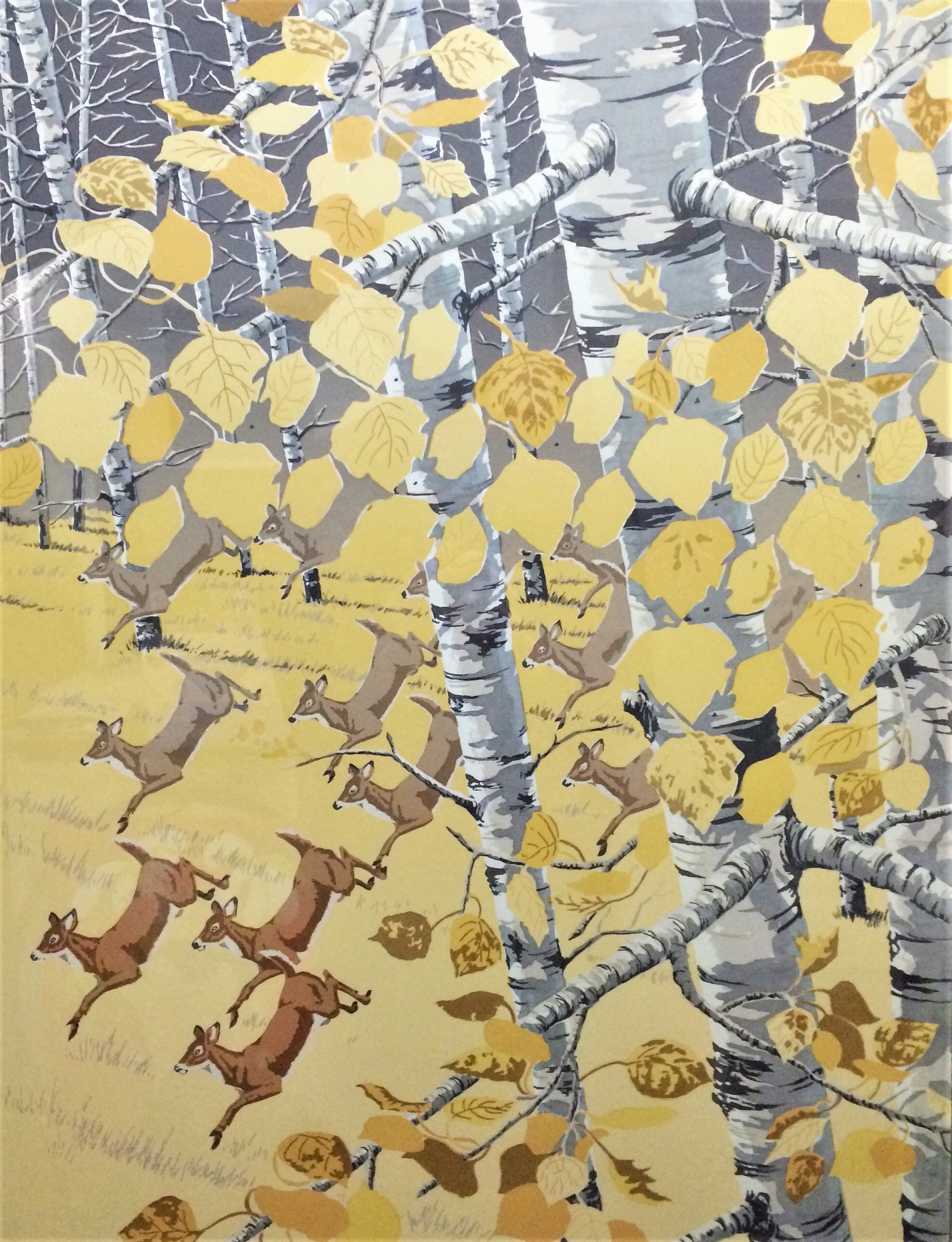 Aspen Grove Ballet -  Bob Kercher  10 Color Serigraph