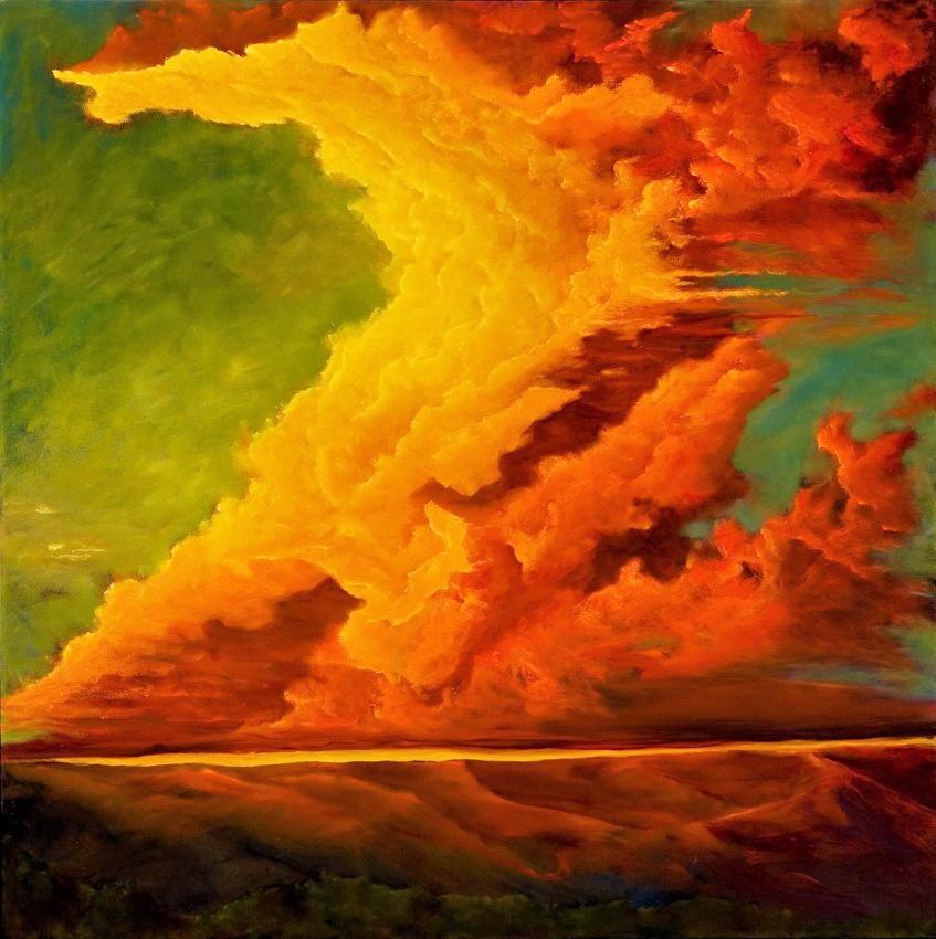 Clouds in Oilby Arthur Norby - Award-Winning Landscape Painter & Sculptor
