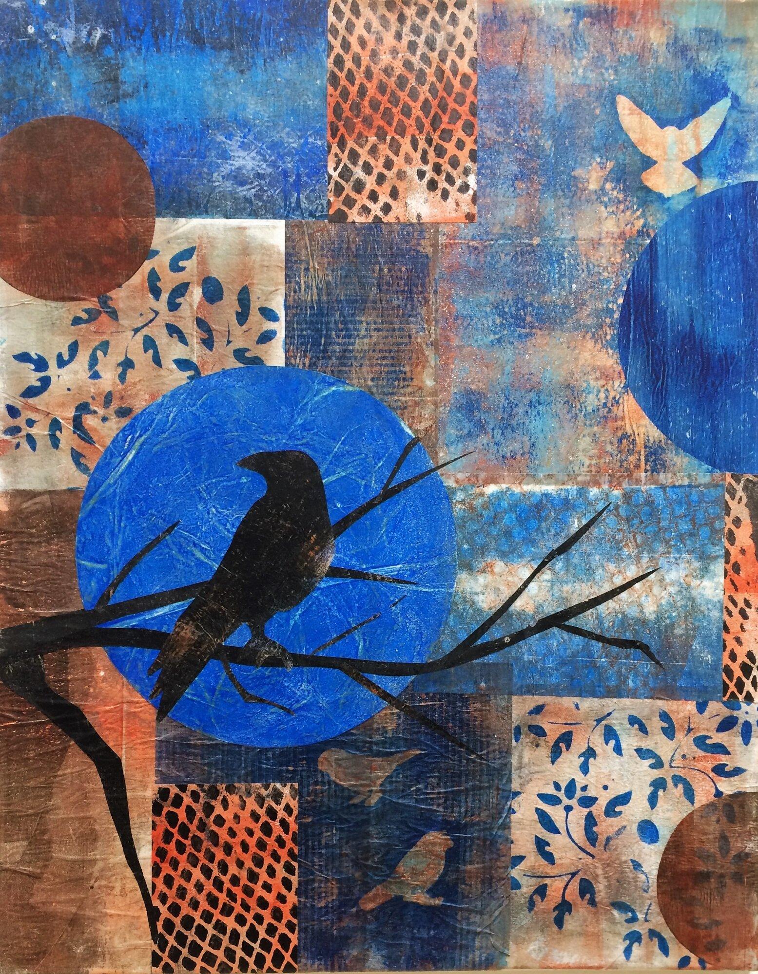 Linda Cohen -  Blue Bird