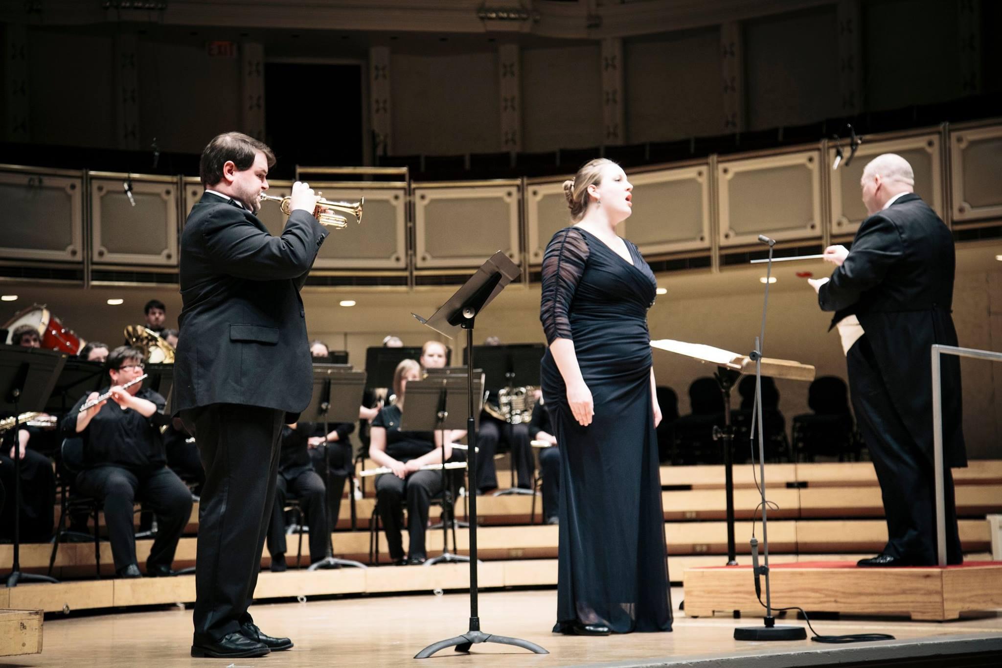 "Handel's ""Eternal Source of Light Divine,"" Chicago's Symphony Hall, 2015"
