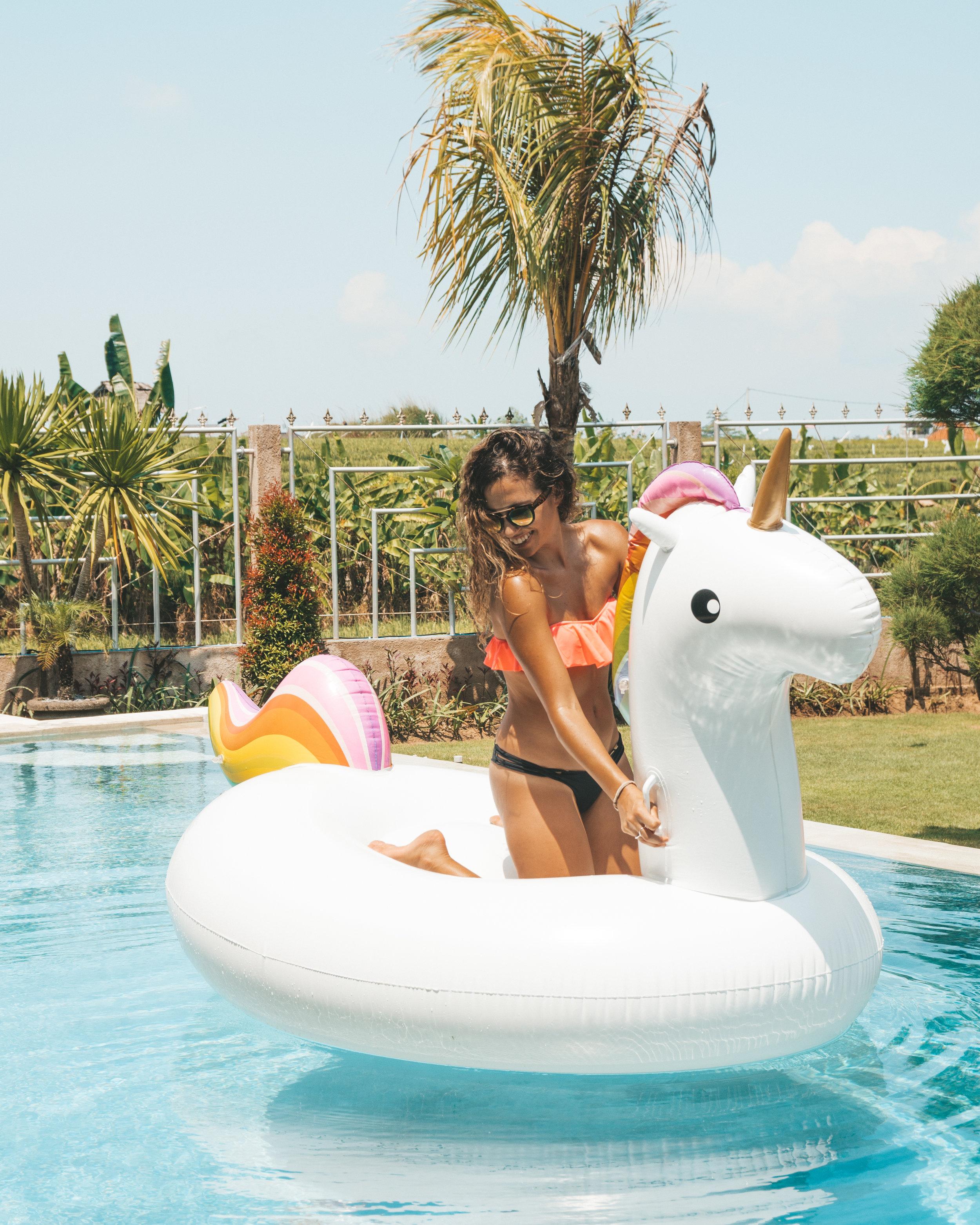 Unicorn Floaties at Pondok Canggu