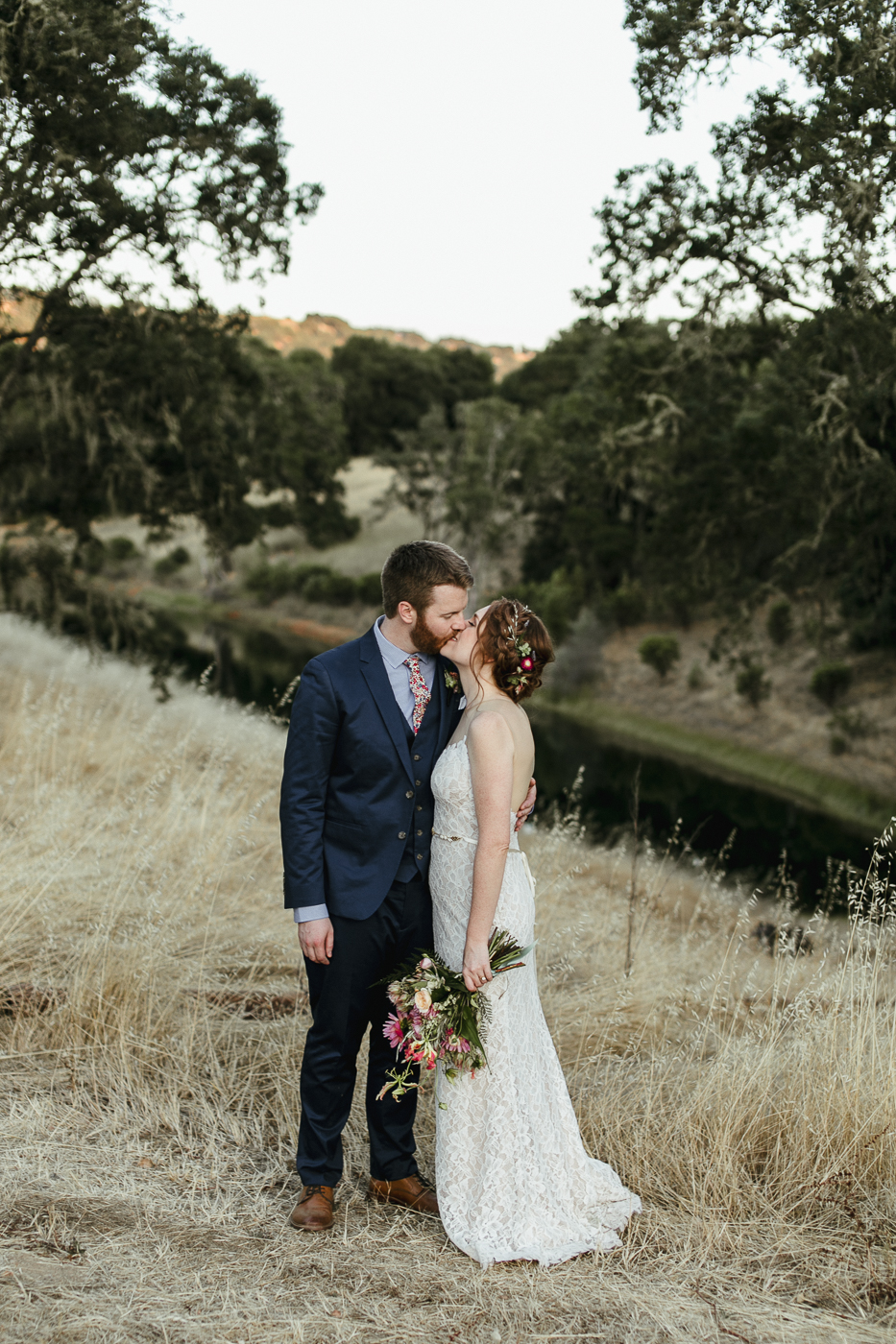 Romantic Vineyard Wedding in Hopland, California