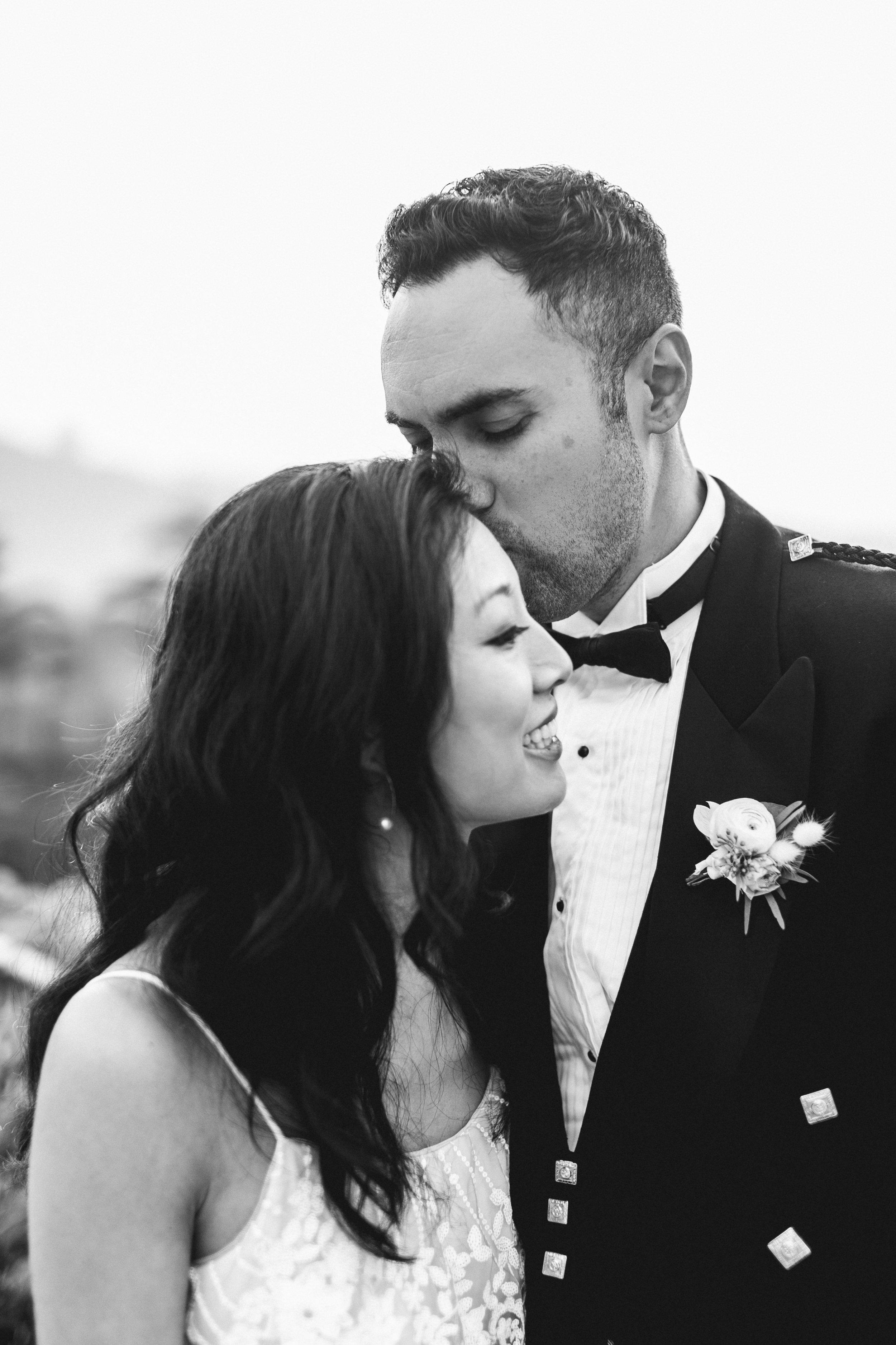 Intimate Vineyard Wedding in Carmel-by-the-sea, California