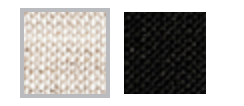 Linen (from left to right): Oatmeal, Black