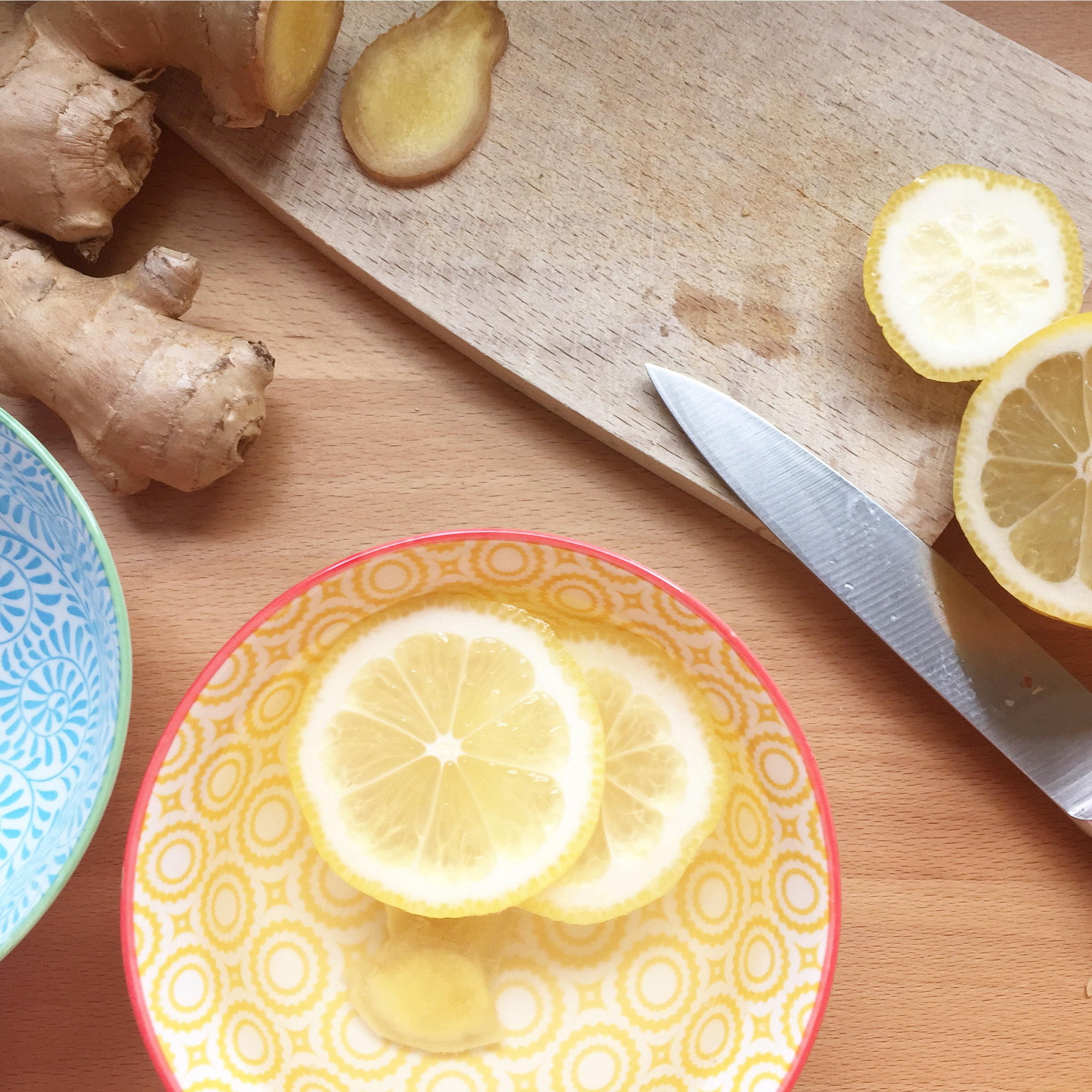 Jules and Louis Blog | How To Make Homemade Ginger Tea With Lemon