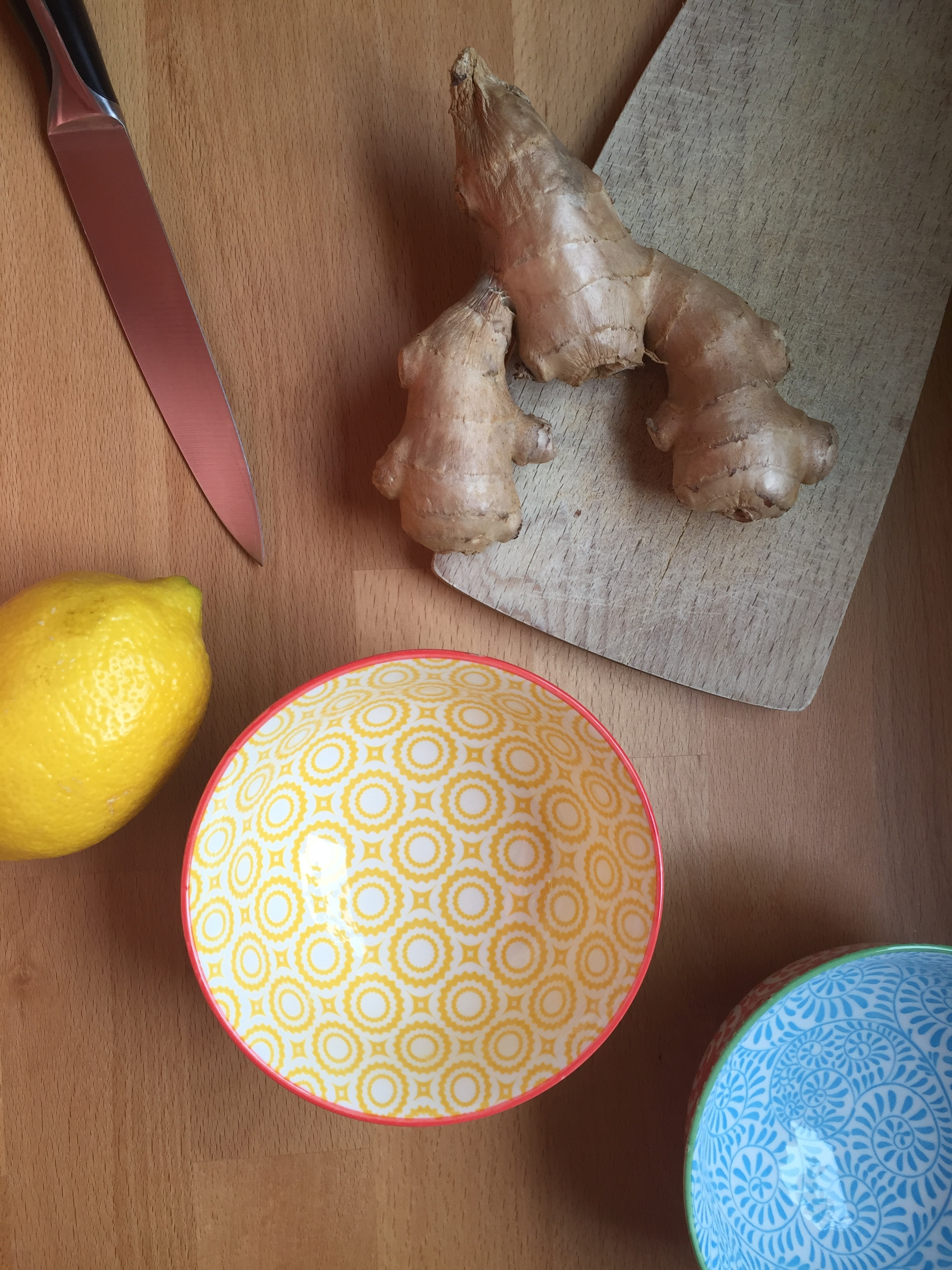 Jules and Louis Blog | Recipe Homemade Ginger Tea with Lemon