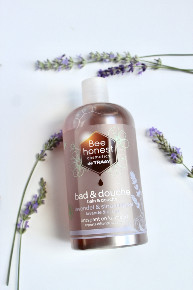 Jules and Louis blog - bad en douche Bee Honest de Traay - lavendel en sinaasappel