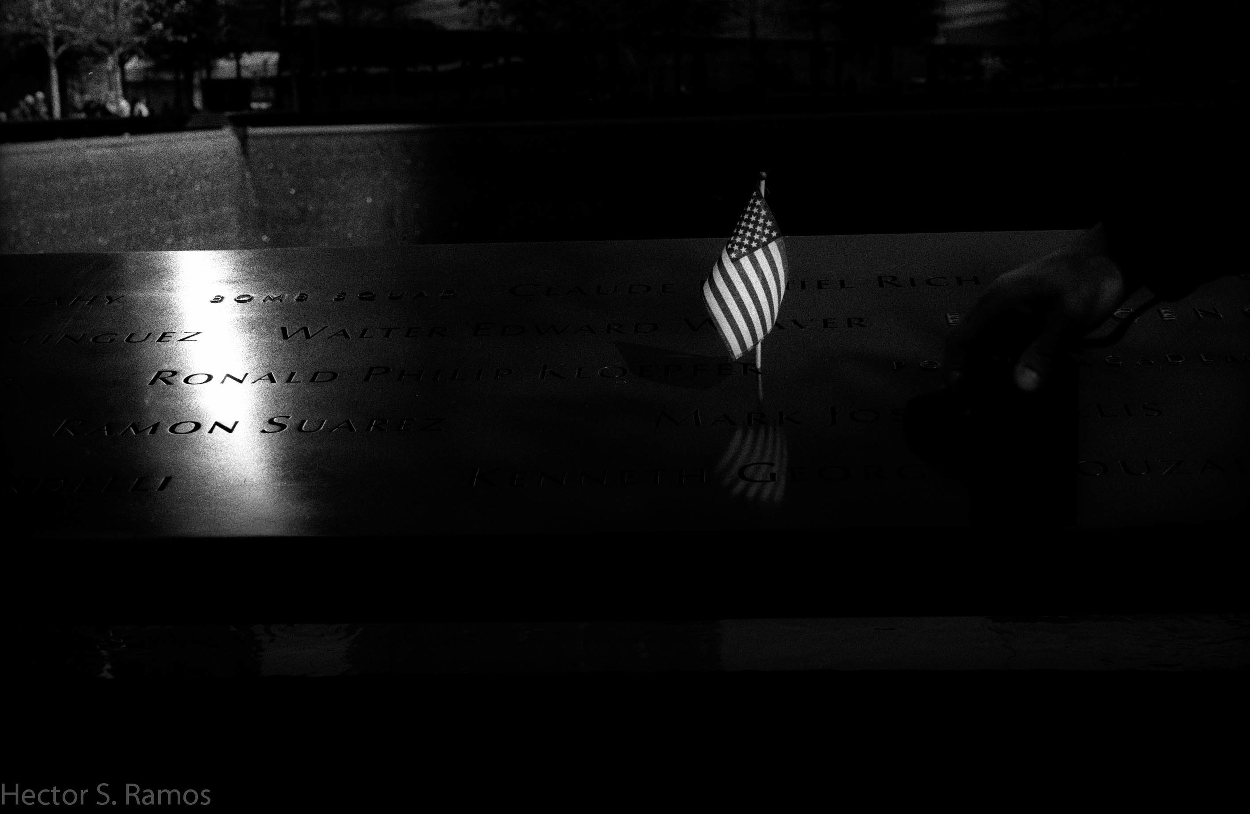 Our collective pain.  September 11 Memorial.