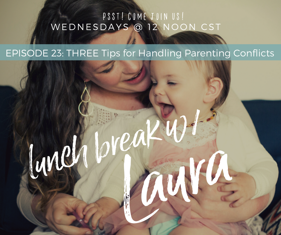strategies for managing parenting conflicts
