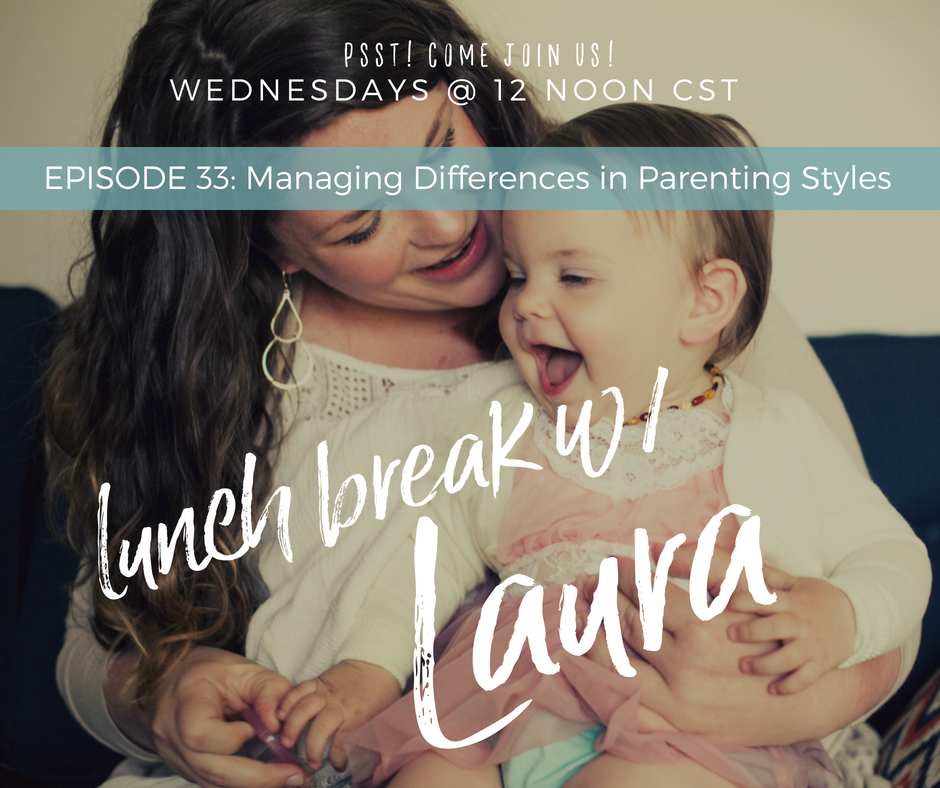 Managing Diferences in Parenting Style