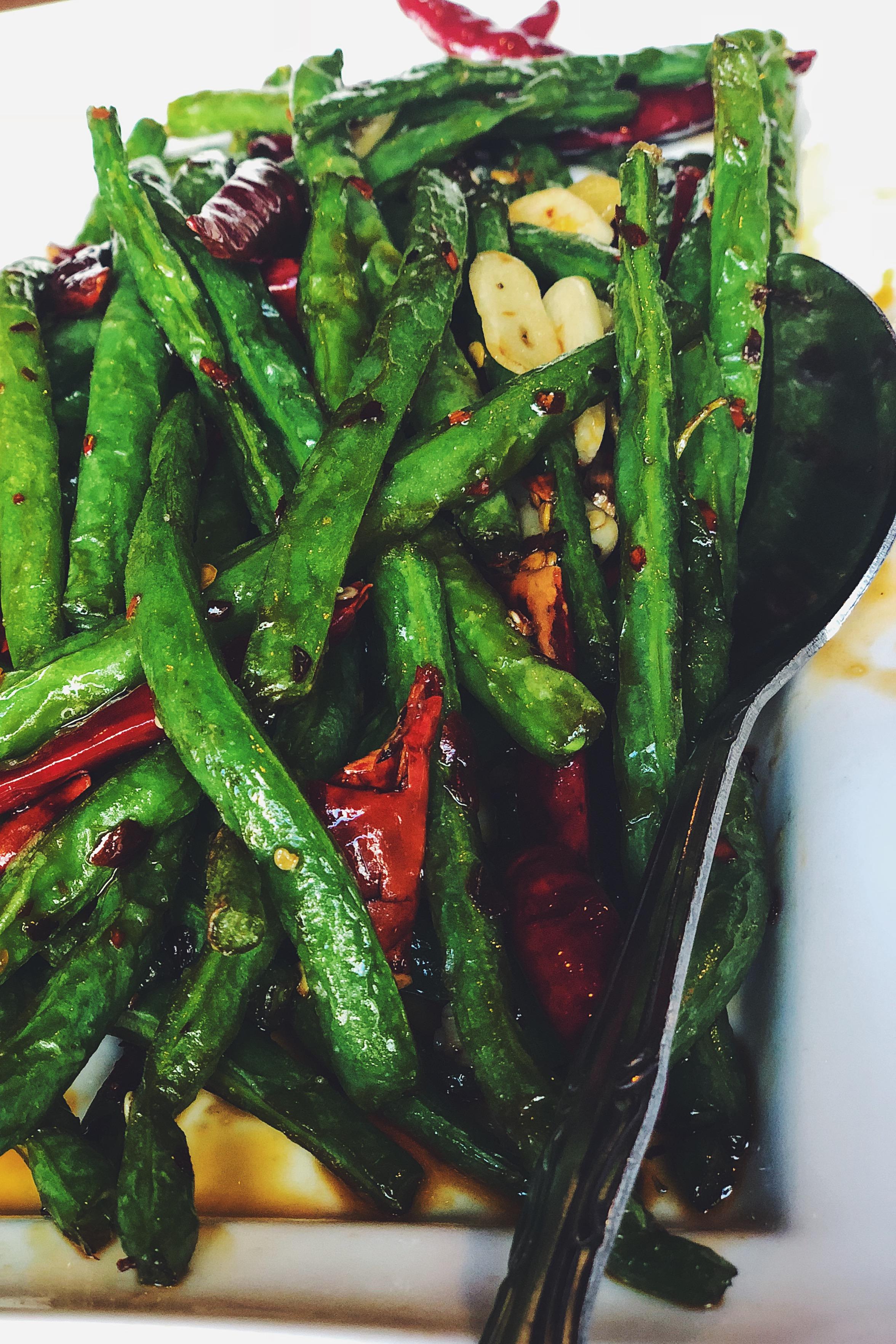 Chilli String Beans