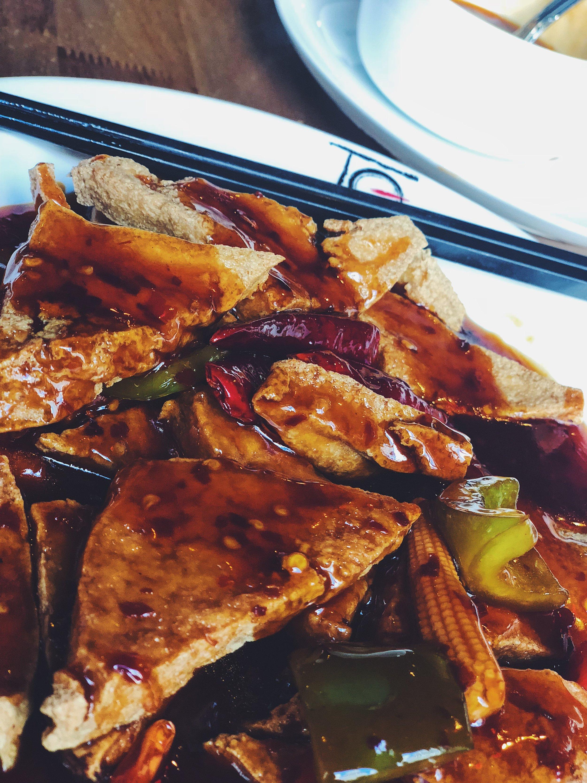 General Tao's Tofu (Requested Crispy)