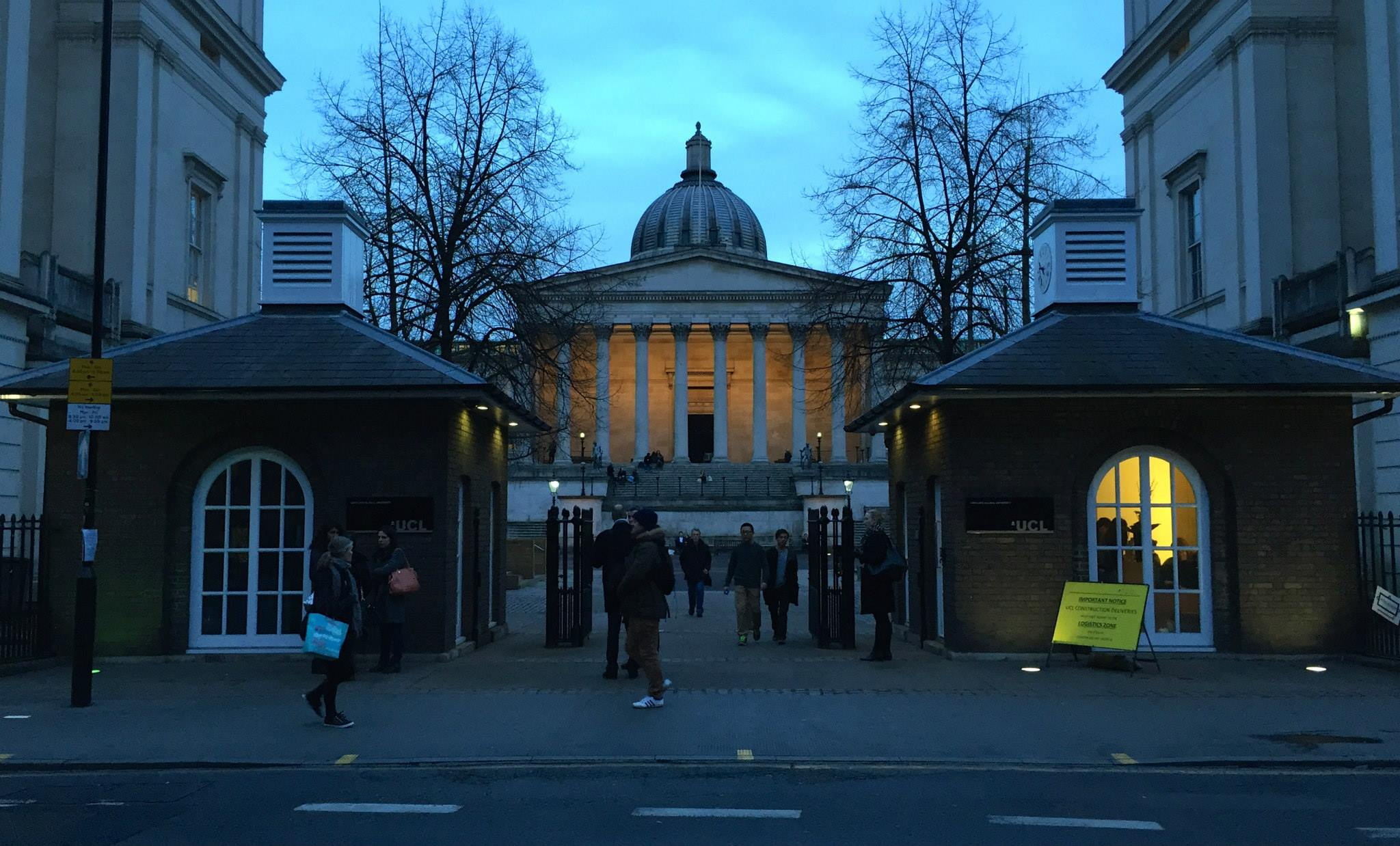 The school that I studied abroad at: University College London