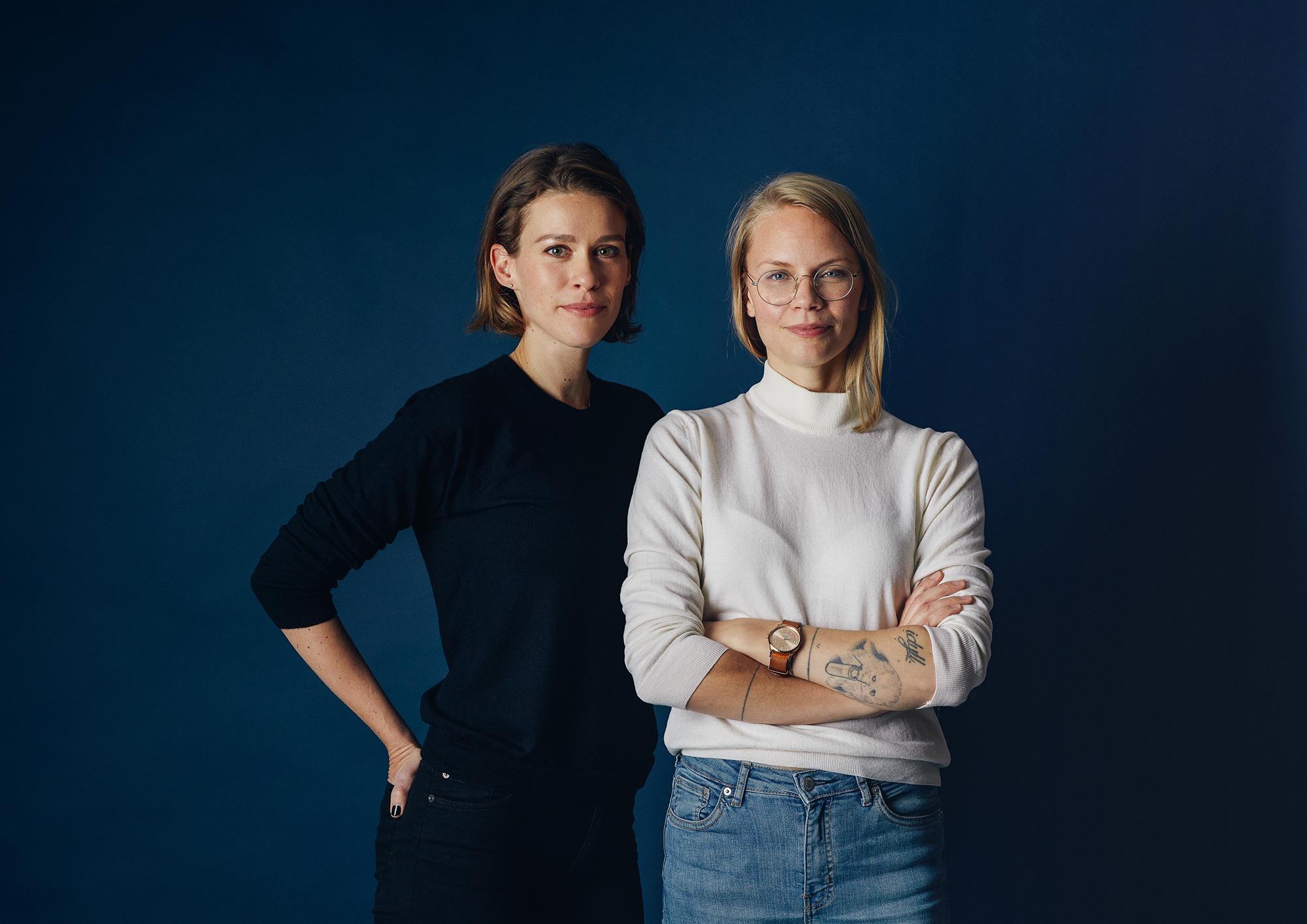 Elin & Martina, Albatros Agency. Foto: Jens Nilsson