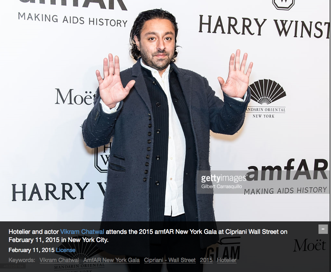 2015 amfAR New York Gala -  Getty Images