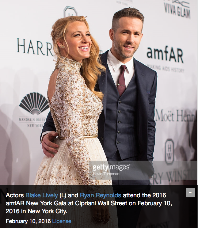2016 amfAR New York Gala -  Getty Images