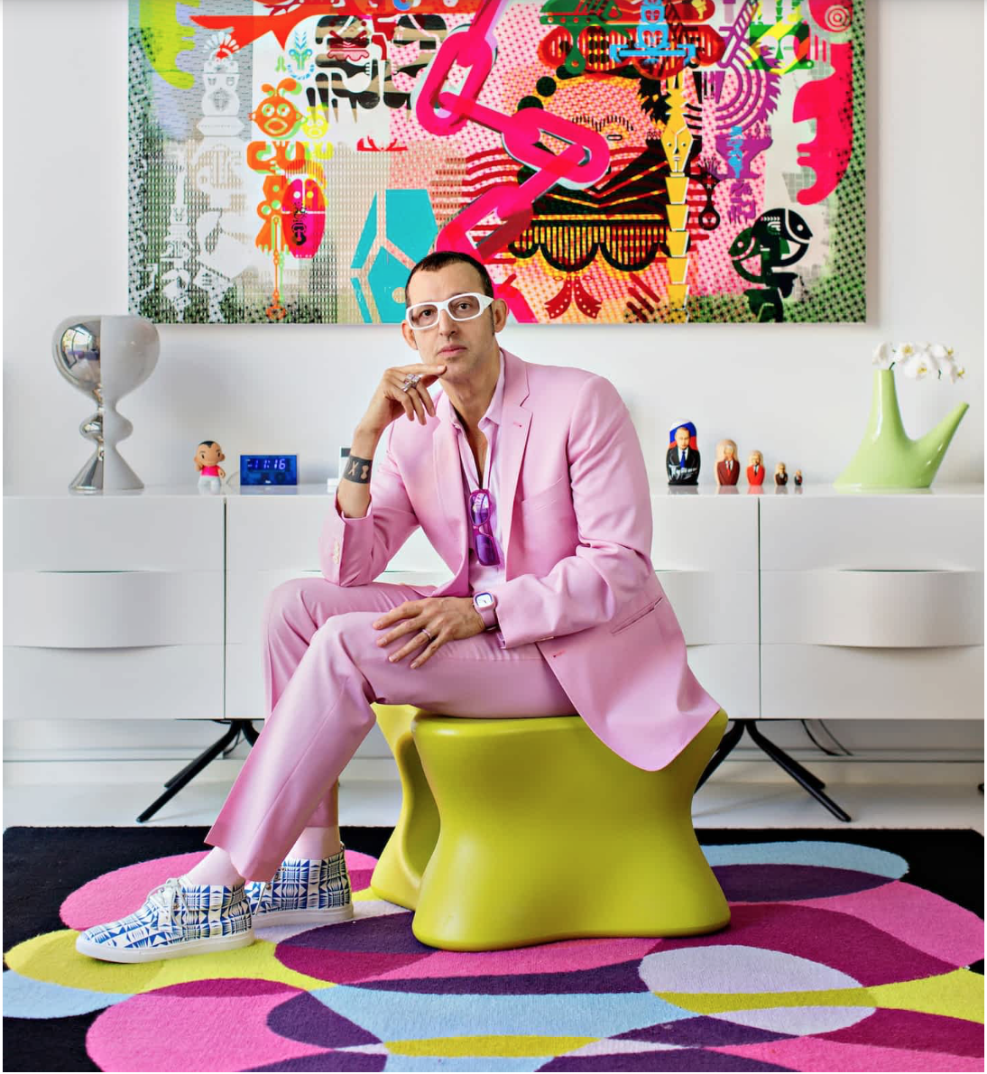 Karim Rashid talks personal taste... -  FT: How to spend it