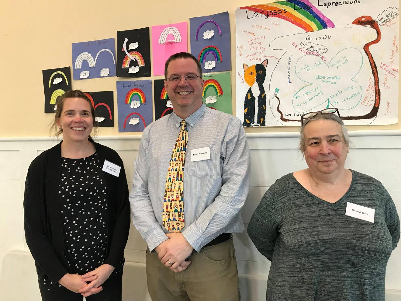 Inspired by parent suggestions, the Riverside Coffee Houses offer opportunities for parents and guardians to discuss issues of teaching, learning, and parenting, and in particular questions about developmentally appropriate strategy.