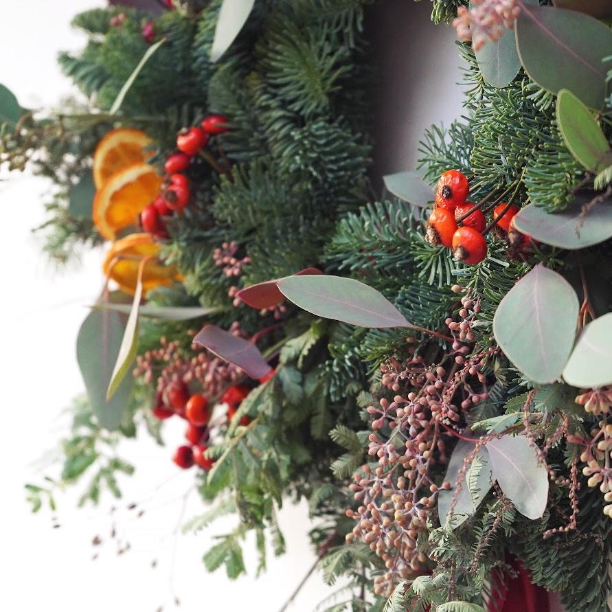 Christmas Wreath Workshop, Twickenham