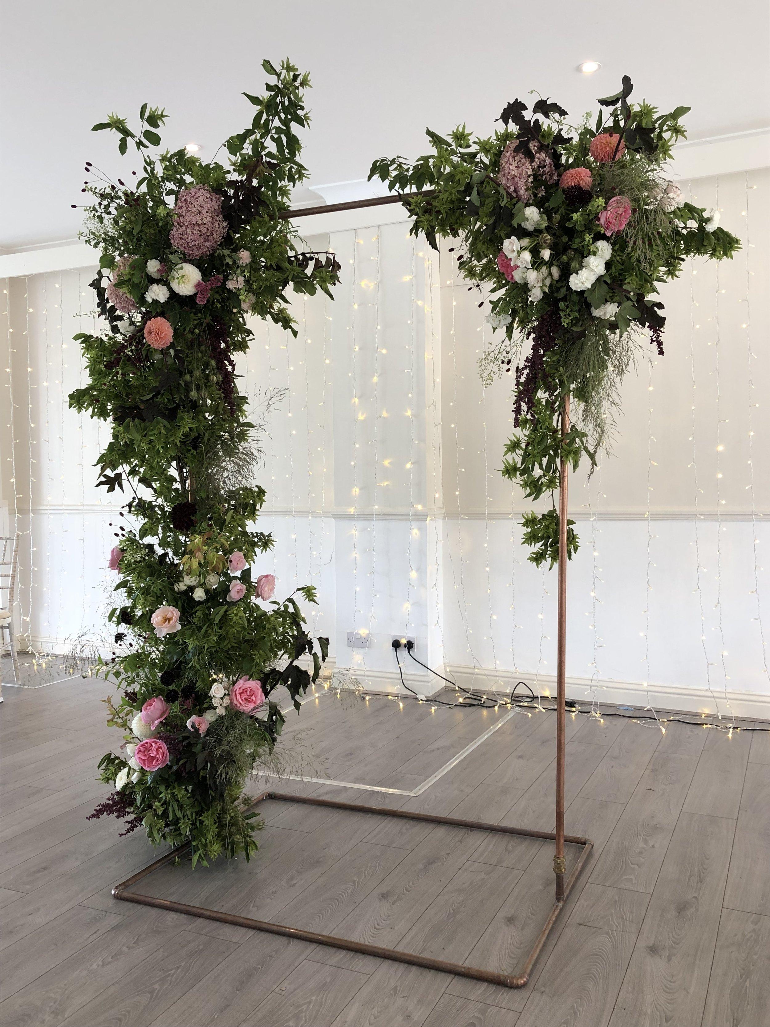 Floral Arch, Kingston Wedding Flowers
