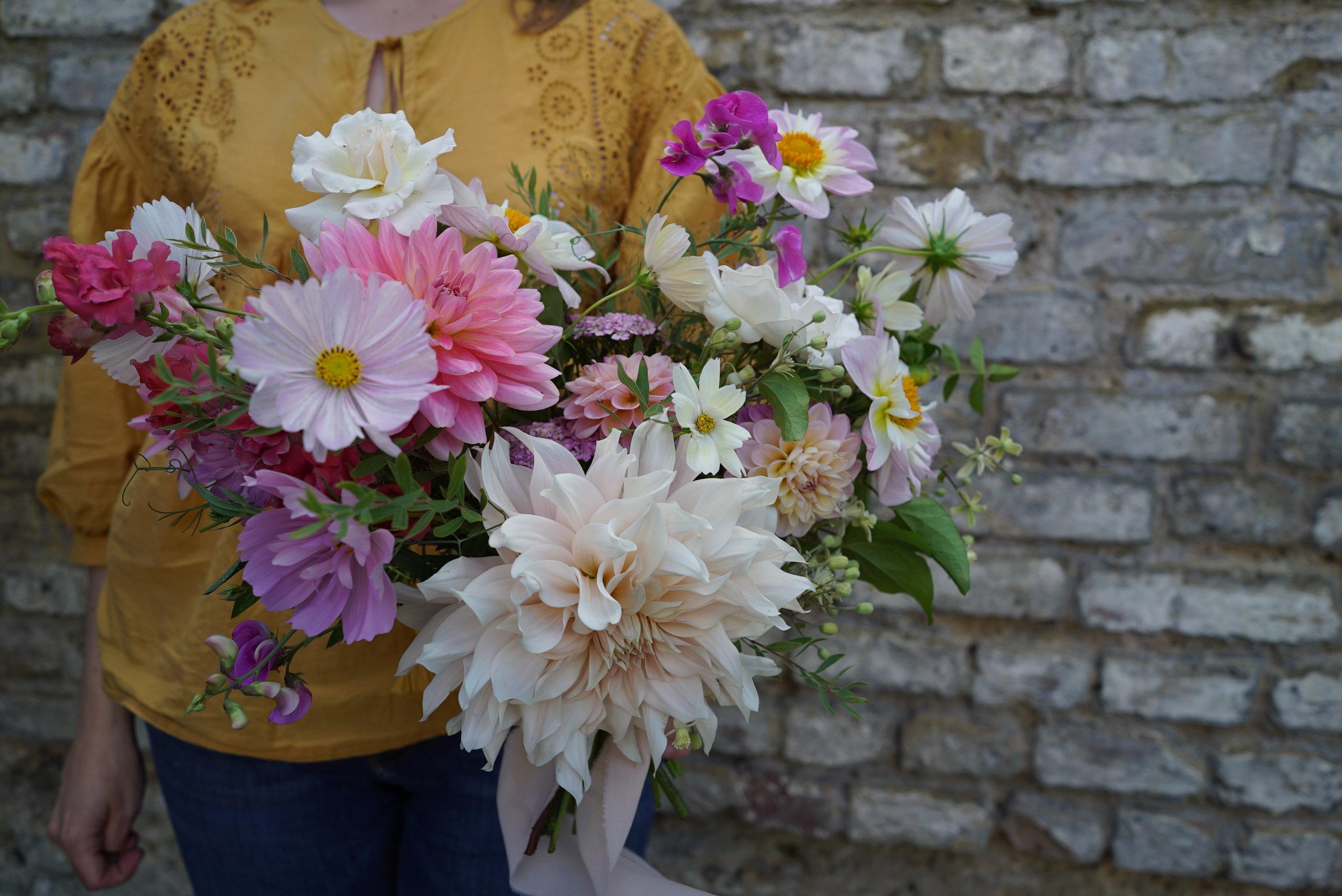 DIY Wedding Flower Workshop, West London, Twickenham, Richmond, Teddington, Hampton, Kew