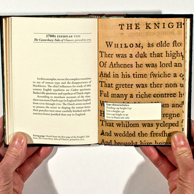 A Very Brief Survey of Book Design and Typography from 1400 to 1900