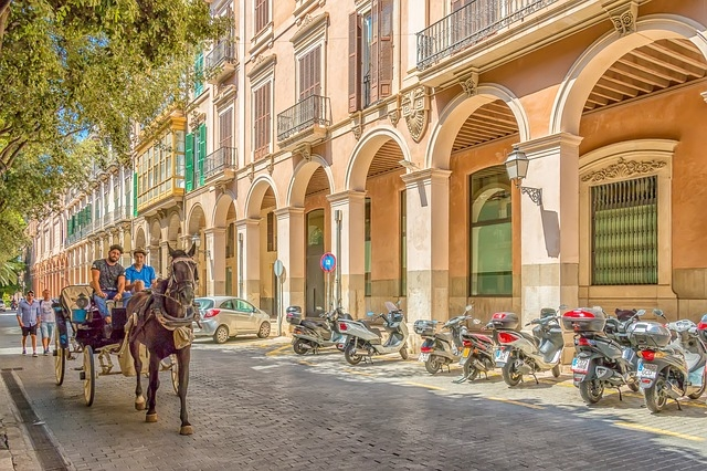 Explore the streets of Palma