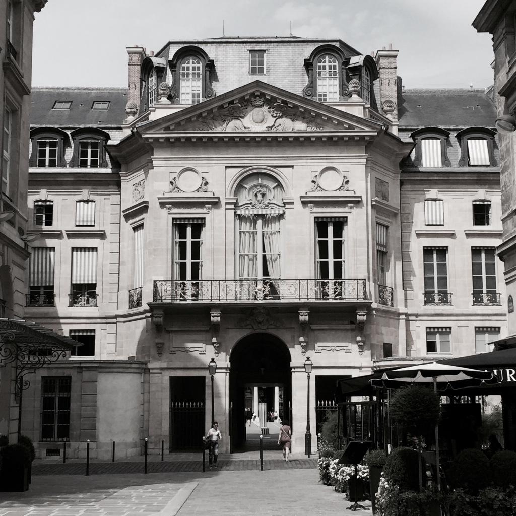 Classic Paris architecture