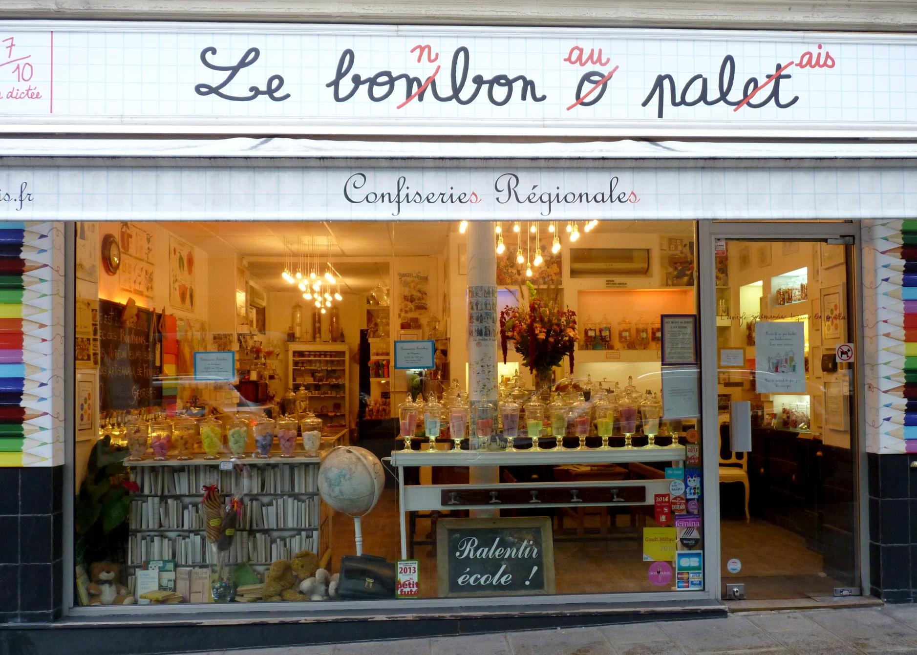 LE BONBON AU PALAIS, PARIS