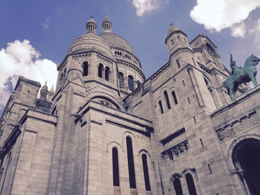 sacre coeur towers