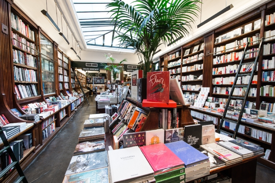 Librairie GALIGNANI. Paris. 09/2016 © david atlan