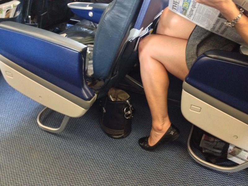 British Airways leg space