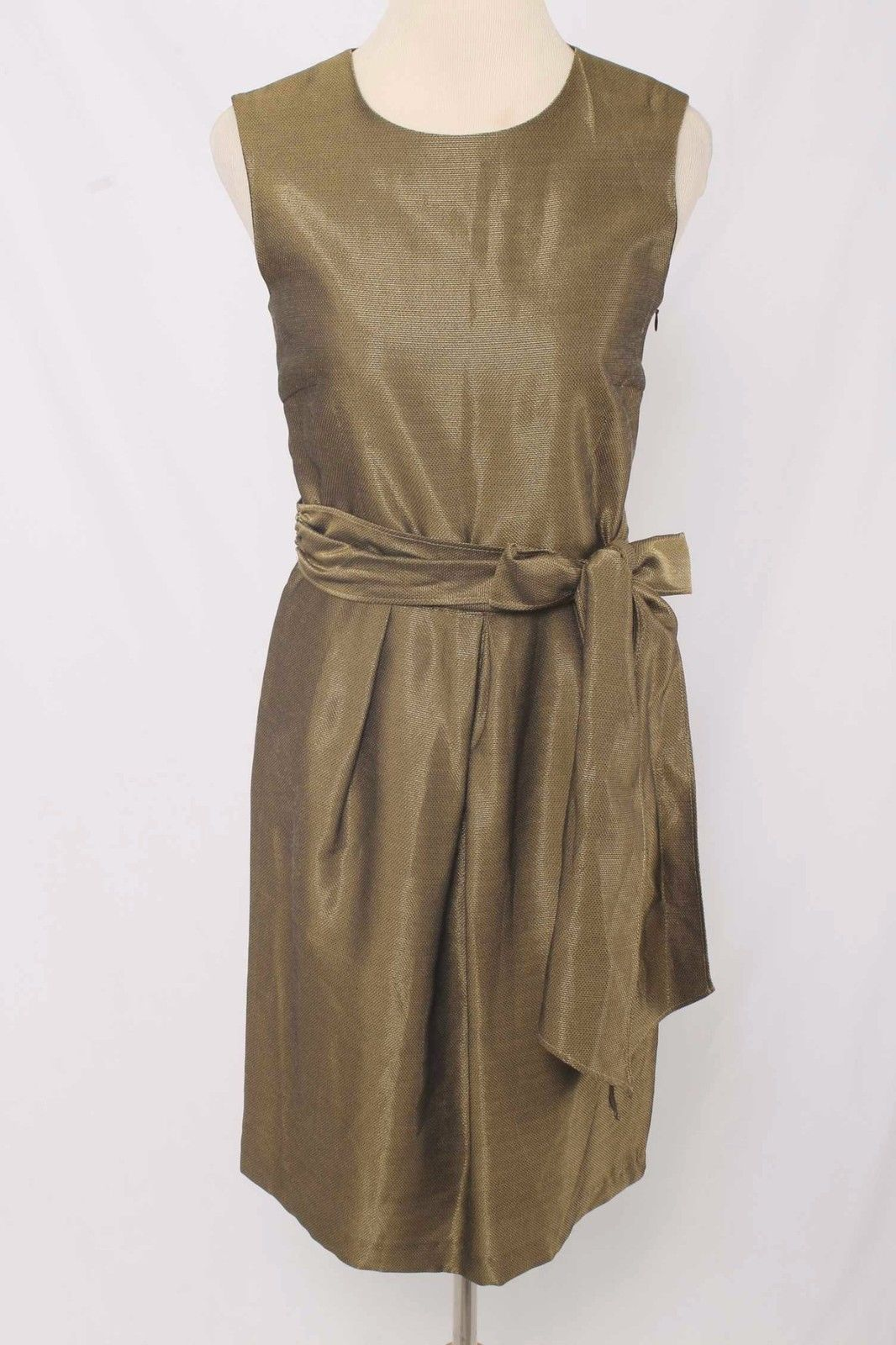 Zara-Size-M-Metallic-Gold-Belted-Pleated-Dress.jpg