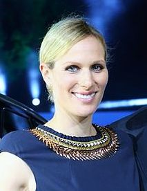 Zara Tindall - Zara Anne Elizabeth Phillips was born as the second child of Anne, Princess Royal and Mark Phillips. She has an older brother, Peter. She is the first grand daughter of Queen Elizabeth and Prince Philip. She was born on May 15, 1981, in St. Mary's Hospital in London. She studied at the University of Exeter where she qualified as a physiotherapist. Zara, whose first name was suggested by her uncle the Prince of Wales, is an Olympian who got silver in Team Eventing in the 2012 London Olympic Games.She married rugby player Mike Tindall on July 30, 2011. They have one daughter, Mia.(Photo:Land Rover MENA/Wikimedia Commons)