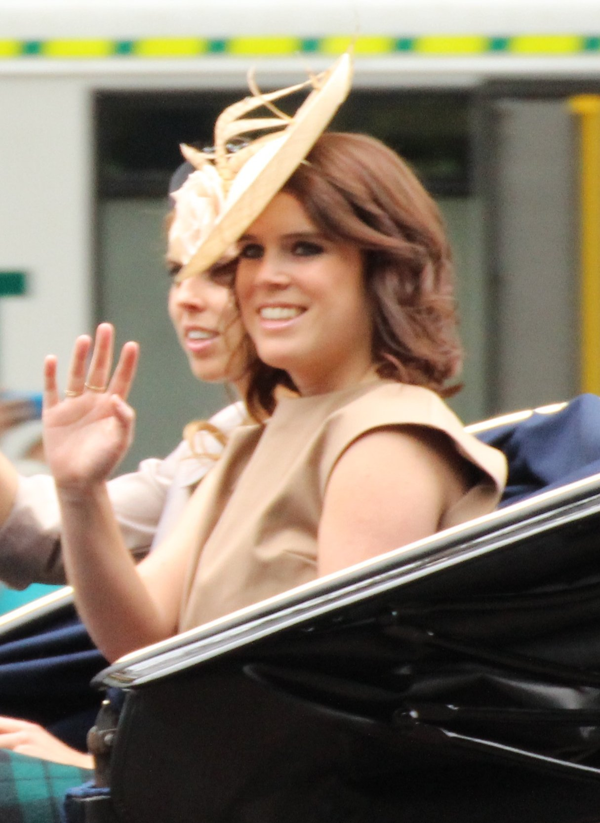 Princess Eugenie - Eugenie Victoria Helena was born to Prince Andrew, Duke of York and Sarah, Duchess of York, on March 23, 1990, in Portland Hospital in London. She has an older sister, Princess Beatrice and is the third granddaughter of Queen Elizabeth and Prince Philip.She graduated from Newcastle University with a 2:1 in English literature and history of art. At the moment, she is eighth in line to the British throne and does carry out public duties for the Royal Family. Eugenie is married to Jack Brooksbank (m. October 2018).She works for the Hauser & Wirth art gallery.(Photo Courtesy of Keri Heinzmann)