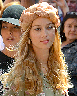 Beatrice Borromeo - Casiraghi - Beatrice Borromeo was born in Bozen, Italy, on August 18, 1985, to Carlo (Count of Arona) and Countess Paola. She has an older brother and three older half-sisters through her father.A journalist, she married the second son of Monaco's Princess Caroline (and nephew of Prince Albert, grandson of Grace Kelly) Pierre Casiraghion August 1, 2015. They have one son together: Stefano Ercole Carlo Casiraghi.(Photo: Bernd Schwabe/Wikimedia Commons)