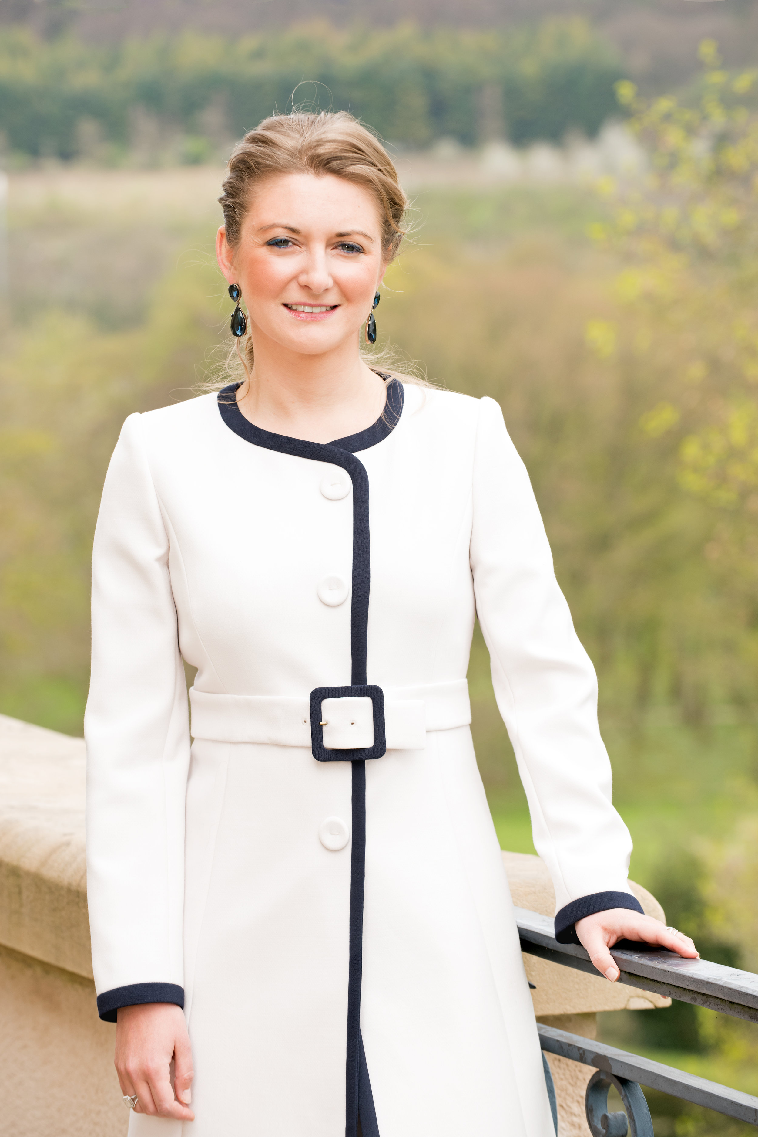 Hereditary Grand Duchess Stephanie - Countess Stéphanie de Lannoy was born on February 18, 1984, in East Flanders, Belgium, to a noble family. She has seven older siblings. Her parents are Count Philippe and the late Countess Alix who died just a few months before Stéphanie's wedding.She has a degree in German philology from Louvain-la-Neuve and also has a master's degree. The polygot speaks several languages (English, French, Dutch, German, Luxembourgish and Russian).She married Hereditary Grand Duke Guillaume of Luxembourg on October 19 and 20, 2012. She's now the Hereditary Grand Duchess.© 2017 Cour grand-ducale / Lola Velasco / tous droits réservés