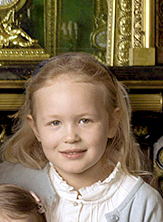 Savannah Phillips - Savannah is the older child of Peter and Autumn Phillips. She's the granddaughter of Princess Anne and great-granddaugther of Queen Elizabeth II and Prince Philip. She has a younger sister Isla.Photo: Annie Leibovitz