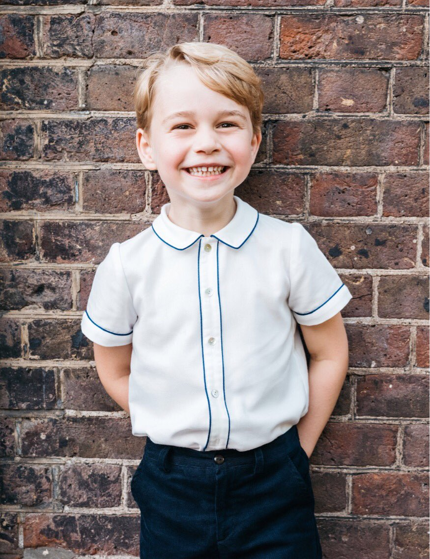 Prince George - George Alexander Louis is the oldest child of the Duke and Duchess of Cambridge. He was born on July 22, 2013, in the Lindo Wing of St. Mary's Hospital in London. He was christened at St. James's Palace on October 23, 2013, with cousin Zara Tindall serving as a godparent.George, third in the line of succession, has one younger sister, Charlotte and a younger brother, Louis. He attends the private Thomas's School in Battersea.(Photo: PA/Matt Porteous/Duke and Duchess of Cambridge)