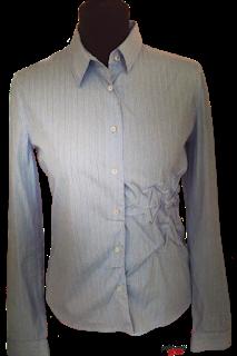Prada Blue Pin Striped Shirt with Pick Ups.png