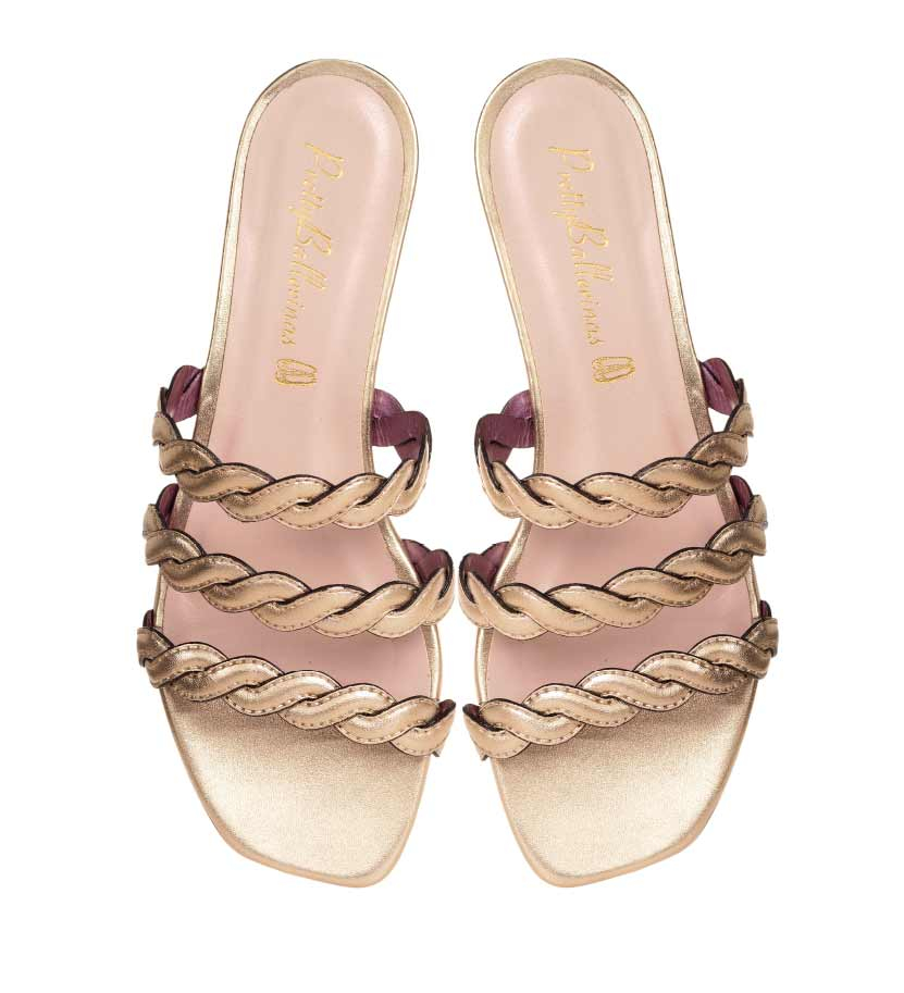 Pretty Ballerinas 3 stripe sandals MO.jpg