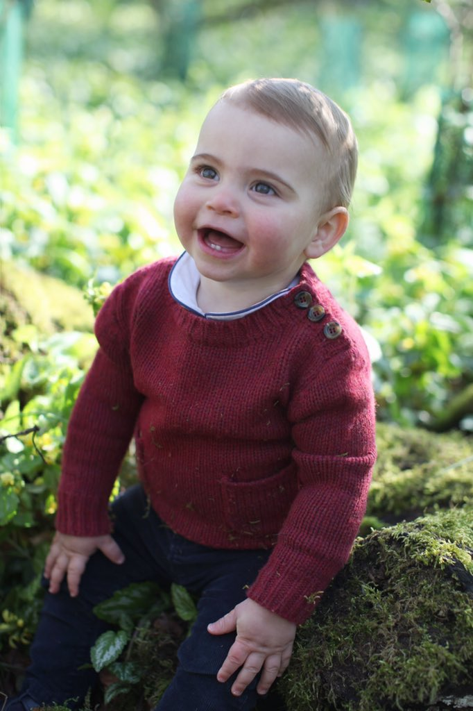 Prince Louis - Louis Arthur Charles was born in the Lindo Wing of St Mary's Hospital on 23 April 2018 to the Duke and Duchess of Cambridge. He is fifth in line to the throne and has two older siblings: Prince George and Princess Charlotte.(Photo: HRH The Duchess of Cambridge)
