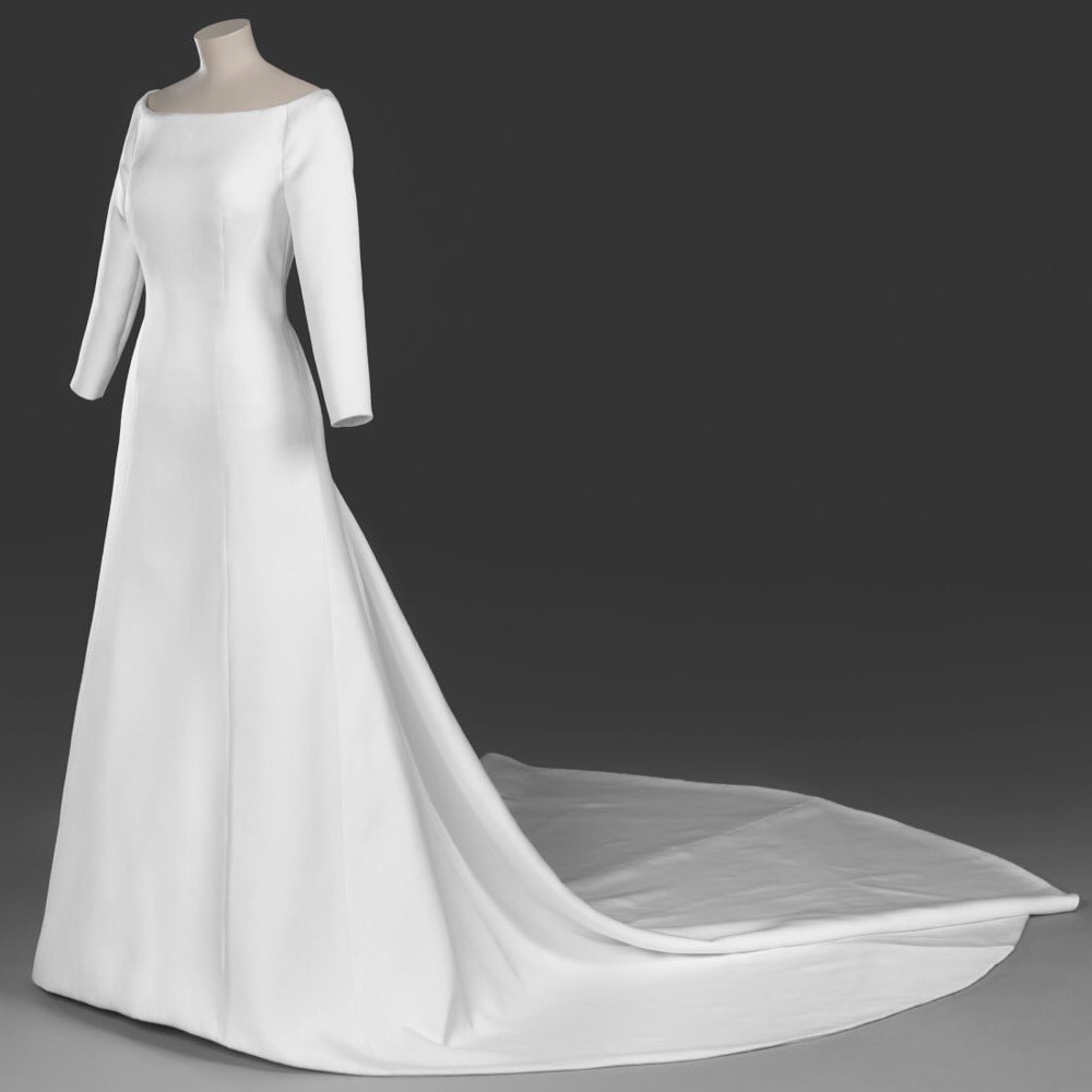 Meghan Mccain Wears Marchesa Wedding Dress: Givenchy Wedding Gown
