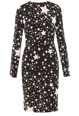 Dolce & Gabbana Star Print Dress.png