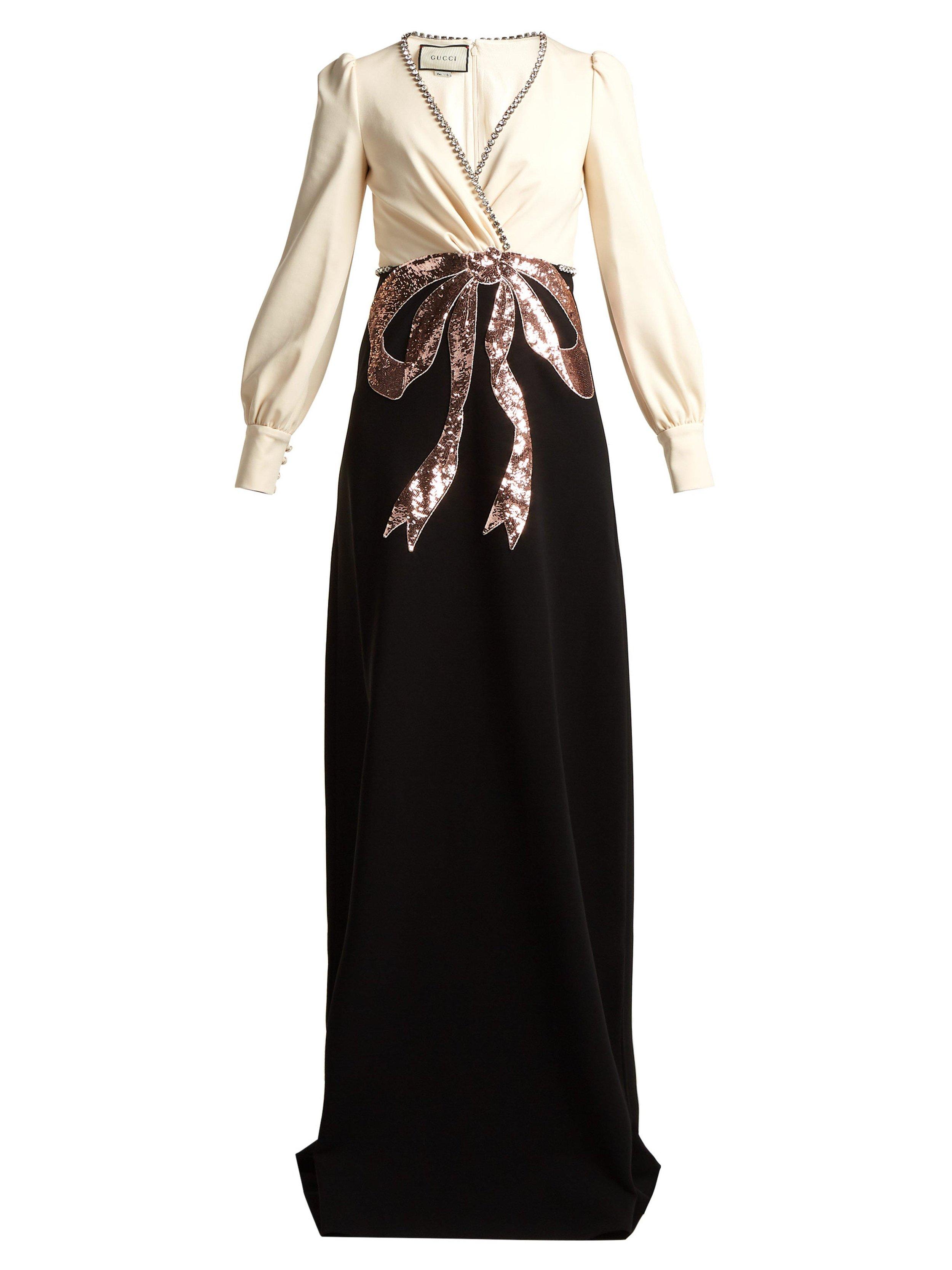 Gucci Crystal Sequin-Embellished Crepe Gown.jpg
