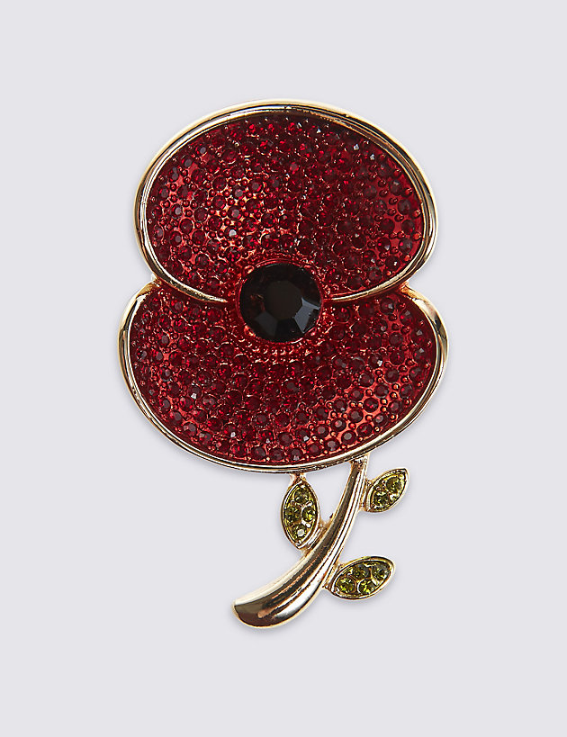 Marks & Spencer The Poppy® Collection Large Poppy Brooch.jpg