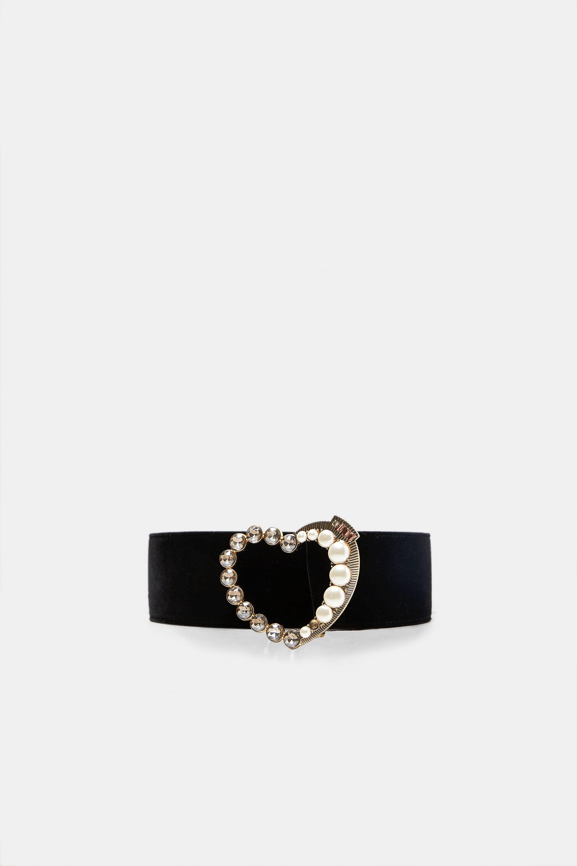 Zara Belt with Bejewelled Heart Buckle.jpg