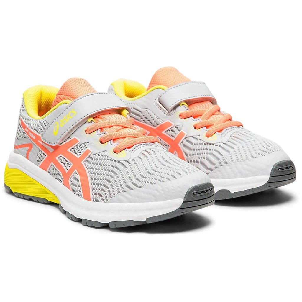 ASICS GT-1000™ 8 PS Trainers in Piedmont Grey:Sun Coral.jpg